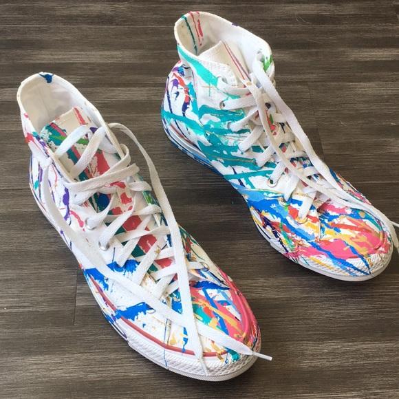 7a82f8a115ca Converse Shoes - Brand new Converse All Star paint splatter